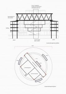 Konstruktionsplan Kiruna stadshus